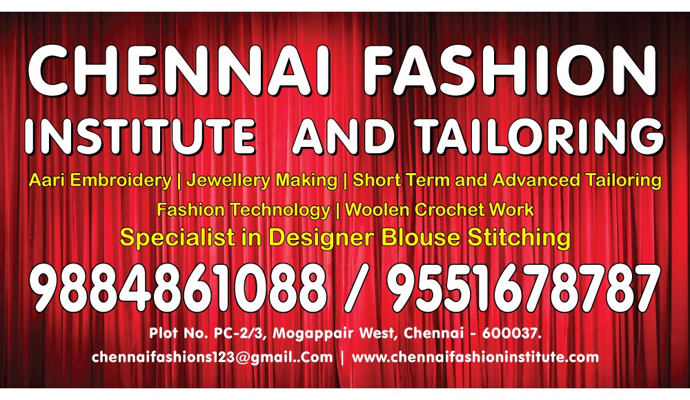 Chennai Fashion Trends Welcomes You Best Tailoring Institute No 1 Tailors